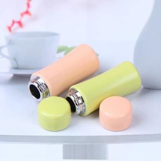2個 水筒 ティボトル ドリンクボトル カフェボトル ドール用品 ミニチュア (ミニチュア)