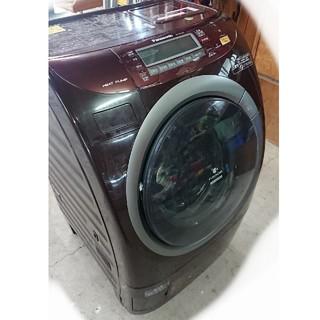 ドラム洗濯機9kg当時最高峰ヒートポンプ音声案内