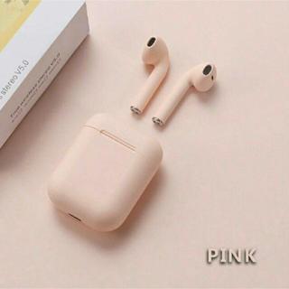 【即購入ok】Inpods12 ピンク ワイヤレスイヤフォン tws(ヘッドフォン/イヤフォン)