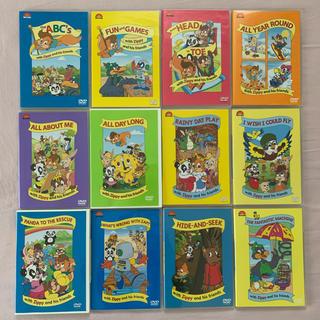 Disney - DWE Zippy DVD 全12巻