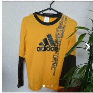 アディダス(adidas)の150㌢adidasロンT(Tシャツ/カットソー)