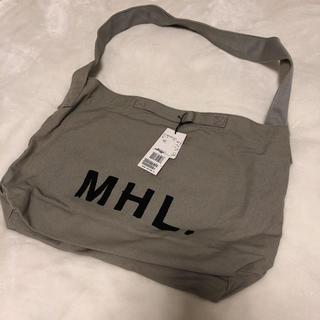 マーガレットハウエル(MARGARET HOWELL)の【新品】MHL. ショルダーバッグ(ショルダーバッグ)
