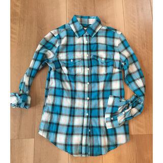 エアロポステール(AEROPOSTALE)のAeropostaleエアロポステール 薄手チェックシャツ S(シャツ/ブラウス(長袖/七分))