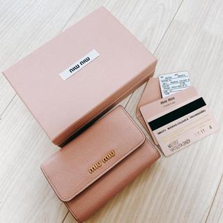miumiu - MIUMIU 三つ折り 財布