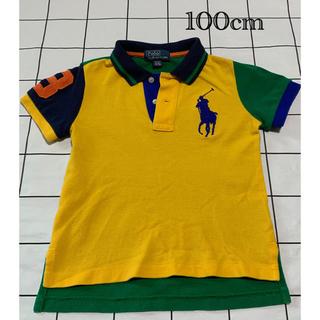 ポロラルフローレン(POLO RALPH LAUREN)の【のん様専用】ラルフローレン ポロシャツ サイズ100 キッズ(Tシャツ/カットソー)