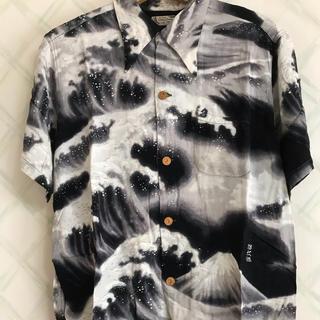 ドゥニーム(DENIME)のドゥニーム ハワイアンシャツ Lサイズ(シャツ)