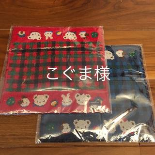 familiar - ファミリア  シェニール織り  タオルハンカチセット