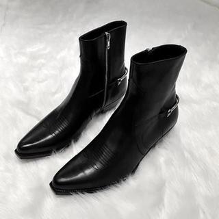 セリーヌ(celine)のモルト様専用 セリーヌSS20 ベルリンブーツ キャバルリージップドブーツ 42(ブーツ)