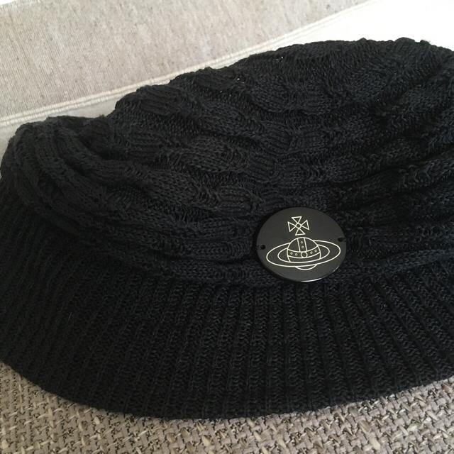 Vivienne Westwood(ヴィヴィアンウエストウッド)のヴィヴィアン サマーキャスケット レディースの帽子(ハンチング/ベレー帽)の商品写真