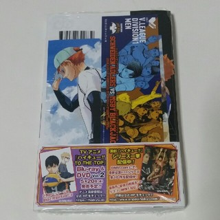 シュウエイシャ(集英社)のハイキュー !!43巻 レア 購入特典はポストカード&しおり(少年漫画)