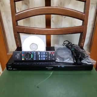 パナソニック(Panasonic)の新品同様完動美品!W録1TB外付HDDスマホ!パナソニックDMR-BRW1010(ブルーレイレコーダー)