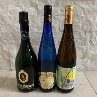 ピーロートブルー カビネット アイスワイン ゼクト3本セット(ワイン)