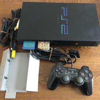 プレイステーション2(PlayStation2)のプレイステーション2 本体セット!(家庭用ゲーム機本体)