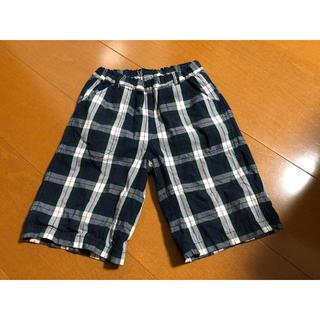 ムジルシリョウヒン(MUJI (無印良品))のチェック柄ズボン(パンツ/スパッツ)