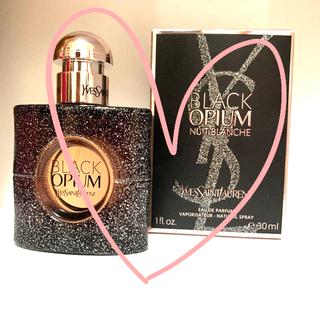 イヴサンローランボーテ(Yves Saint Laurent Beaute)のイヴ・サンローラン BLACK OPIUM ニュイブランシェ(香水(女性用))