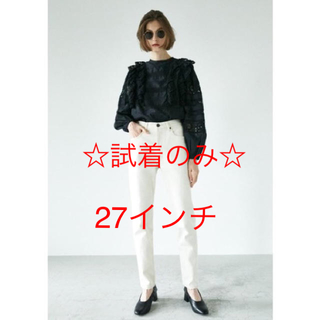 moussy - ☆試着のみ☆MVS WHT SKINNY 27インチ