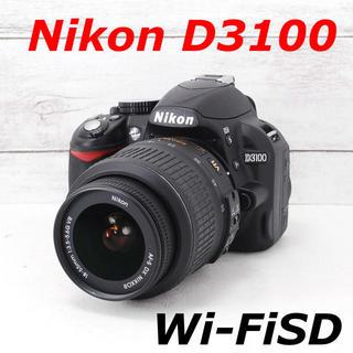 ニコン(Nikon)の❤️シャッター回数わずか66枚❤️スマホ転送❤️Nikon D3100(デジタル一眼)
