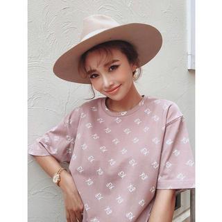 エイミーイストワール(eimy istoire)のeimyistoire EMモノグラムTシャツ(Tシャツ(半袖/袖なし))
