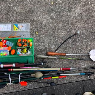 釣竿24本+道具セット‼️(釣り糸/ライン)