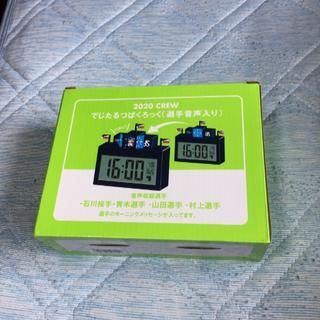 つば九郎デジタル時計