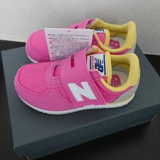 ニューバランス(New Balance)のニューバランス スニーカー ピンク 14㎝ 新品タグつき(スニーカー)