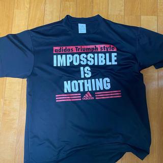 アディダス(adidas)のadidasTシャツ サイズUSA M(Tシャツ/カットソー(半袖/袖なし))