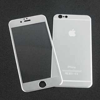iPhoneSE第2世代 シルバー 全面保護 チタンフレーム バンパー(モバイルケース/カバー)