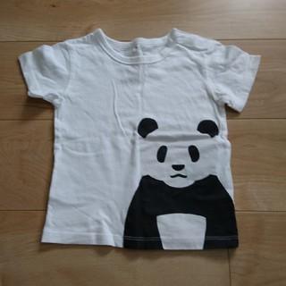ムジルシリョウヒン(MUJI (無印良品))の無印良品 ぱんだTシャツ 90(Tシャツ/カットソー)