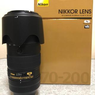 ニコン(Nikon)の【Elna様専用】Nikon AF-S 70-200F2.8E FL ED VR(レンズ(ズーム))