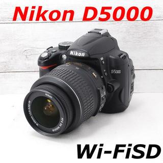 ニコン(Nikon)の❤️初心者オススメ❤️スマホ転送❤️Nikon D5000(デジタル一眼)