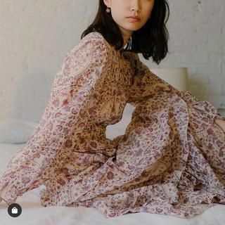 Isabel Marant - 新品イザベルマランエトワール完売総柄刺繍マキシワンピース