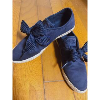 アディダス(adidas)のリボン リレースロー(スニーカー)