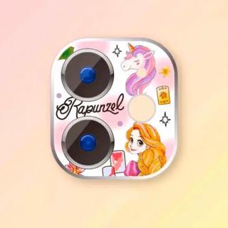 ディズニー(Disney)のiPhone11pro/promax用❤️ラプンツェルのカメラレンズカバー❤️(保護フィルム)