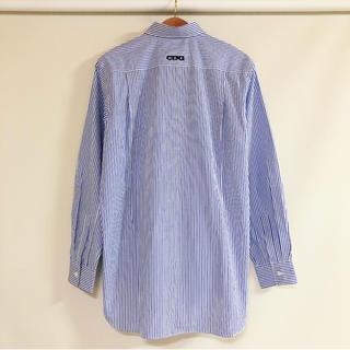 コムデギャルソン(COMME des GARCONS)の新品 送料込 コムデギャルソン CDG ストライプシャツ M(シャツ)