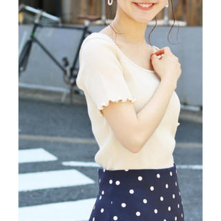 IENA - iena リブトップス