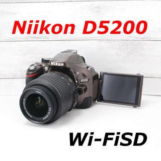 ニコン(Nikon)の❤️希少ブラウンカラー❤️スマホ転送❤️Nikon D5200(デジタル一眼)