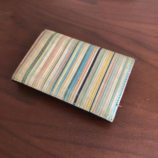 ポールスミス(Paul Smith)のpaulsmith ポールスミス マルチヴィンテージストライプ カードケース(名刺入れ/定期入れ)