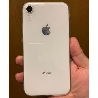 アイフォーン(iPhone)のiPhone XR  White 64 GB ソフトバンク(スマートフォン本体)