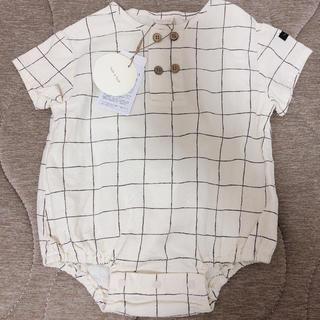 petit main - テータテート 新生児 赤ちゃん ベビー ロンパース 70