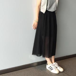 Kastane - シースルースカート カスタネ