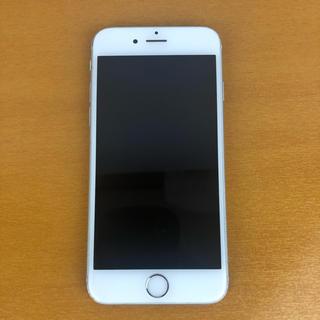 アイフォーン(iPhone)の【SIMフリー】iPhone6s Silver 64GB(スマートフォン本体)