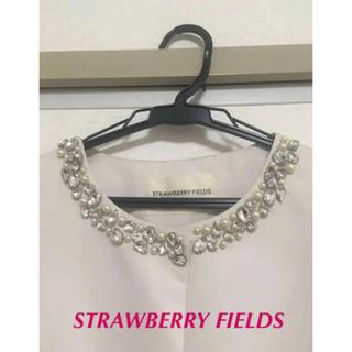STRAWBERRY-FIELDS - ストロベリーフィールズ ノーカラージャケット