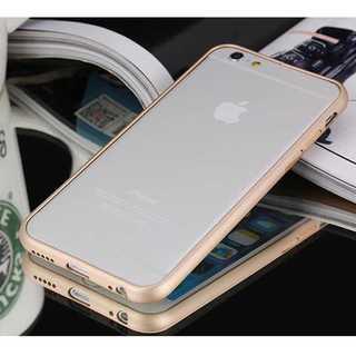 iPhone6plus/6splus ゴールド アルミバンパー 金属 バンパー(モバイルケース/カバー)