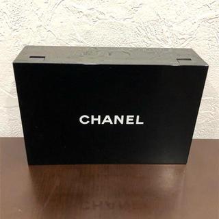 シャネル(CHANEL)の❤セール❤ シャネル ミラーボックス コスメ 化粧 レディース ブラック 黒(小物入れ)