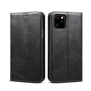 アイフォン11 手帳型ケース スマホカバー ブラック iPhone11(iPhoneケース)