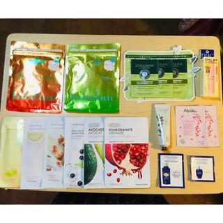 メルヴィータ(Melvita)のinnisfree、LuLuLunのフェイスマスクなど総額3500円以上(リップケア/リップクリーム)