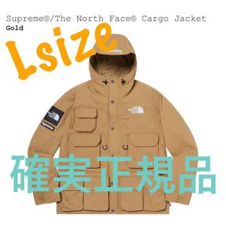 Supreme - Lサイズ Supreme TNF Cargo Jacket Gold 確実正規品