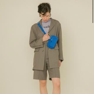 FURFUR オーバーサイズジャケット&ハーフパンツ