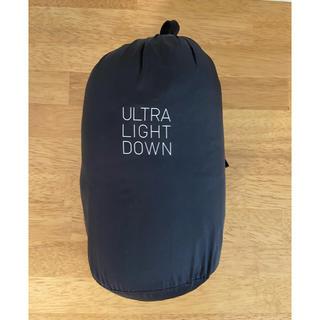 ユニクロ(UNIQLO)の【サイズM】黒 ウルトラライト ダウン ジャケット(ダウンジャケット)