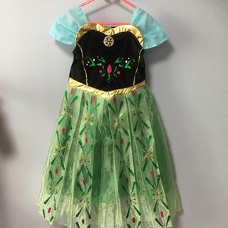 ディズニー(Disney)のアナ雪 アナ コスチューム グローブ付き(ドレス/フォーマル)
